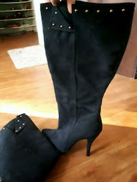 Suede boots 445 km