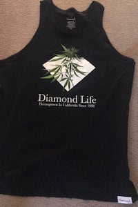 Men's Diamond Tank Top Xl