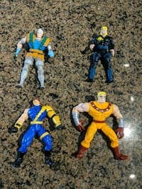 1990s Marvel toys, $5 each or $15 for the bunch