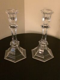 Pairs of Crystal Candle Holder Vienna