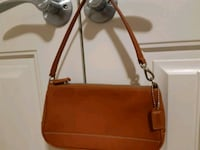 New condition leather Coach purse authentic Richmond
