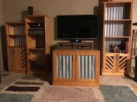Entertainment Center (TV not included )