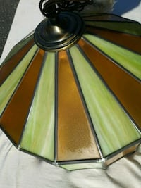 CHANDELIER LAMP - Stained Glass