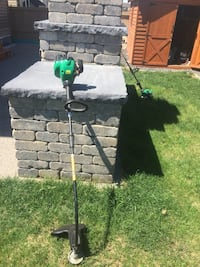 Green and black gas strimmer Airdrie, T4B 0P3