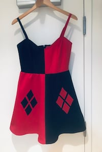 HarleyQuinn Dress (Medium) Perfect for Halloween Vancouver, V6B 0K2