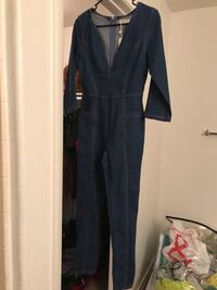 Women's Denim Jumpsuit 2056 mi