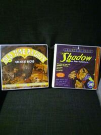 two Old Time Radio's Greatest Shows and The Shadow cases Fort Myers, 33966