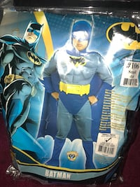 Batman Muscle Costume kids small 4-6 San Francisco, 94132