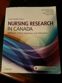 Nursing Research in Canada (4th Edition) Delta, V4E 1P1