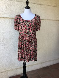 1990s La Belle Fashion's Floral Dress from Nordstrom's-SZ M Castaic, 91384