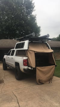 Selling all accessories light bar x5 camper shell decked system slides train horn. And topper easy lift price can be negotiated