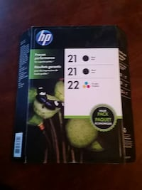 hp printer cartridge box