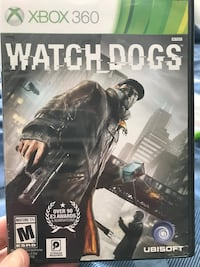 XBOX 360, watch dogs