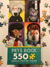 Pet Rock 550 JigSaw Puzzle Wilmington, 28405