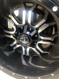 TIS Rims Universal! 20*14 Low Profile,Staggered, Black,20 inch w/Tires Suitland, 20746