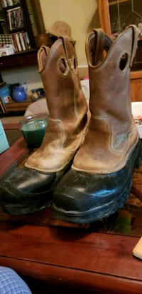 2 pairs Wolverine work boots steel-toed and waterp Houston, 77015