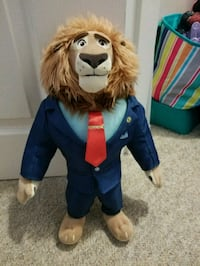 Lion from Zootopia New Westminster, V3M 5N5