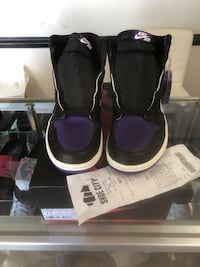 Purple court size 11 brand new with reciept og all Springfield, 22153