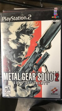 Metal gear solid 2 sons of liberty new ps2 Lakewood, 90713