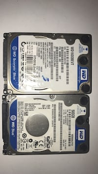 two Western Digital hard disk drives Toronto, M8V 0C6