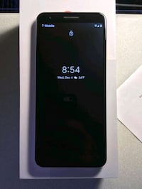 Unlocked Google Pixel 3a with 5 months of service