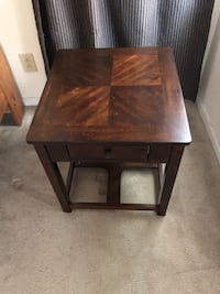 square brown wooden side table Virginia Beach, 23454
