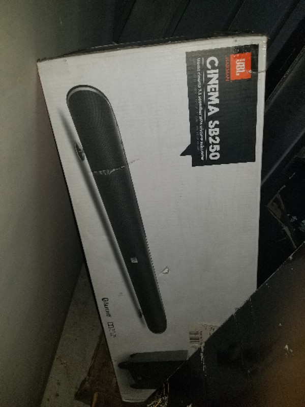 d3c9f6201b7 Used JBL CINEMA SB250 BLUETOOTH SOUNDBAR W  WIRELESS SUBWOOFER for sale in  Garden Grove