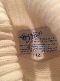 White and brown supreme crew-neck sweater Anaheim, 92807