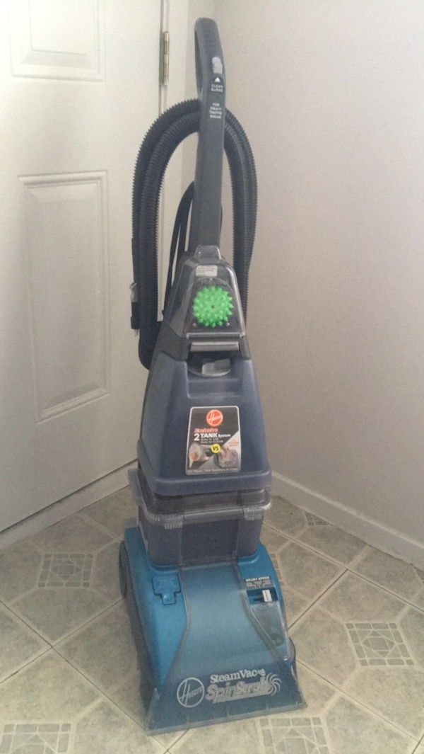 Hoover steam vac carpet cleaner usado