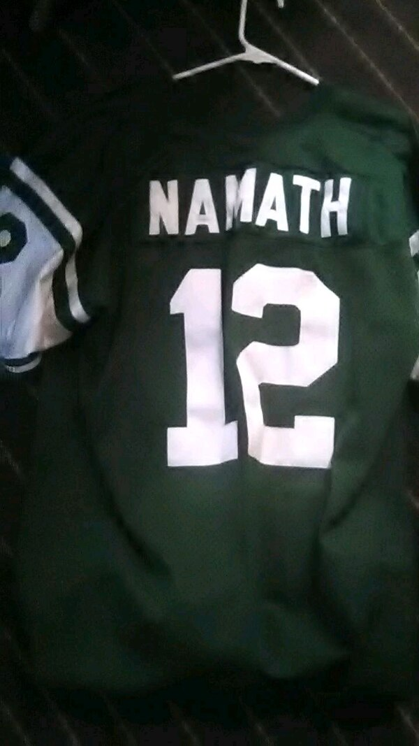 size 40 d1998 44618 Authentic JOE NAMATH Jets #12 Throwback Jersey