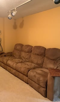 Reclining Theatre Couch/Chair Set