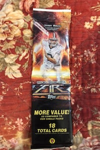 2014 Topps Fire Sealed Football card Rack pack possible Garoppolo ,OBJ Beltsville, 20705