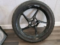 2003 yamaha R6 front tire and rim Edmonton