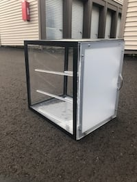 Glass Pastry Cabinet null