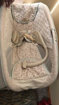 baby's gray and white bouncer Hays, 67601