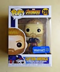 Captain America Funko POP Walmart