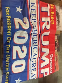 3'x5' flag or bumper stickers