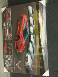 Corvette die-cast car models box Toronto, M6M 5B5