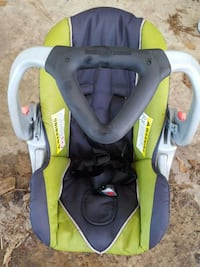 yellow and black car seat carrier Dunn, 28334