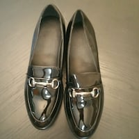 Plataform black Patent leather shoes Garland, 75042