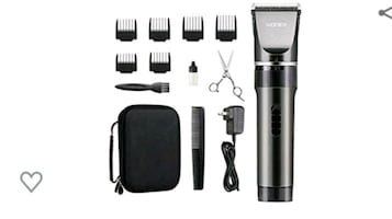 Rechargeable Cordless Hair Clippers, 16-Piece Kit NEW ½ PRICE
