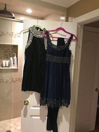 women's blue and black sleeveless dress Vaughan, L4H 0K3