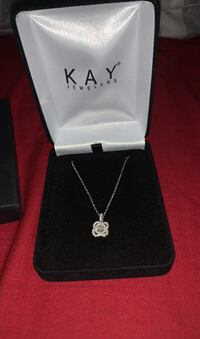 Diamond necklace. New. Never taken out of the box.