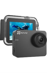 """Action Camera 1080p 60fps 8MP 131ft Waterproof 2"""" Touch Screen Interfa New York, 11232"""