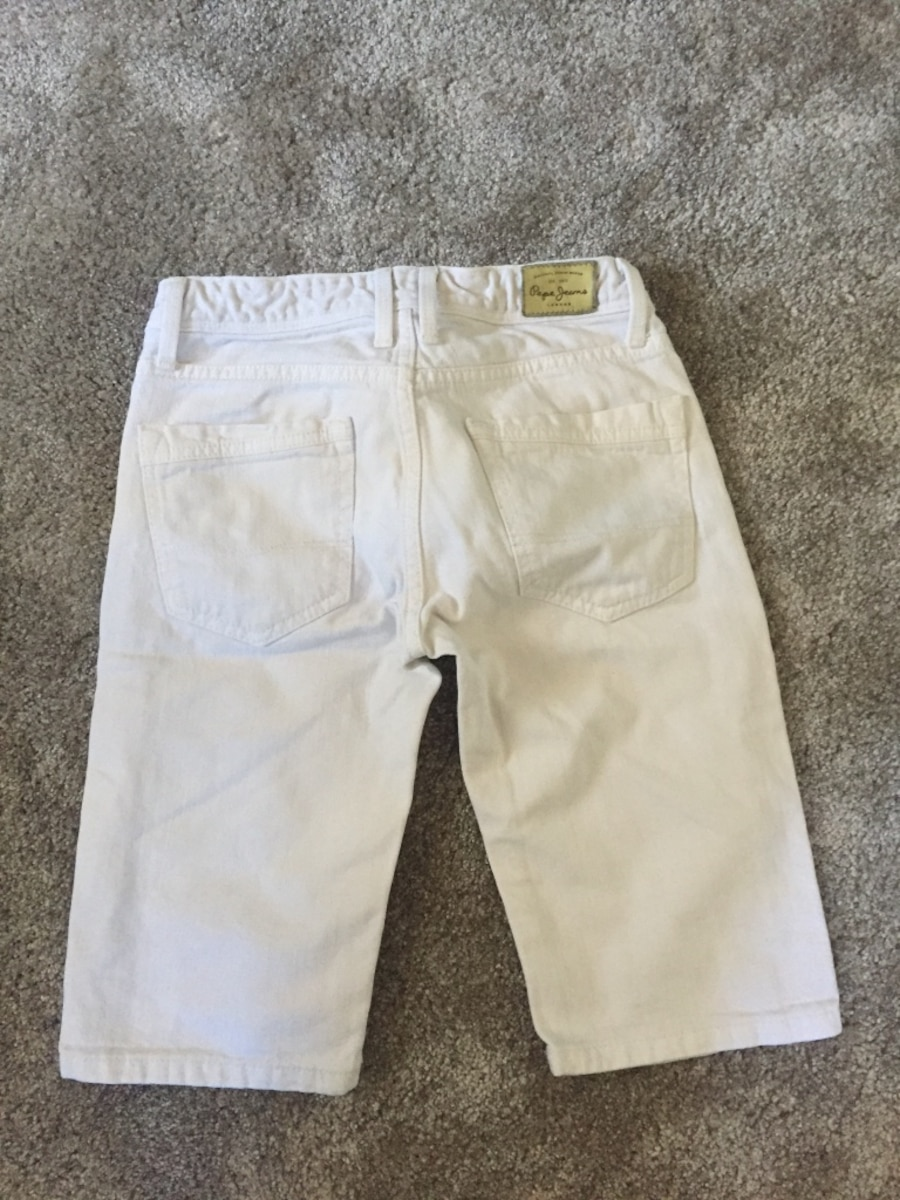 Shorts denim blanc - Puteaux