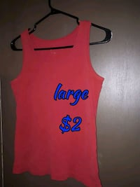 orange and black tank top Calgary, T3B 0T3