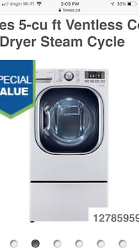 combination Washer dryer -ventless Brampton, L7A 4S6