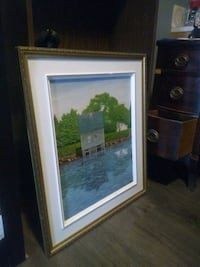 Painting of cabin