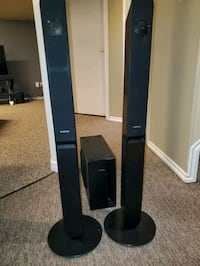 Samsung Speakers and Sub