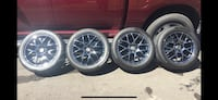 Mustang Rims and Tires- set of 4 Mississauga, L5J 1R2